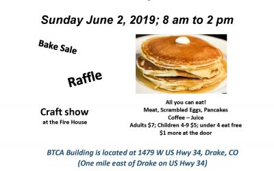 Big Thompson Canyon Association Pancake Breakfast