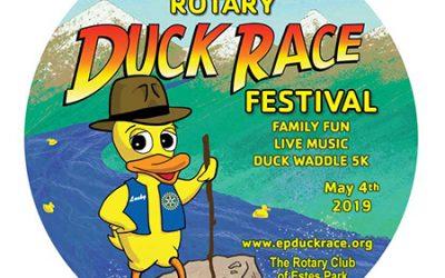 2019 Estes Park Duck Race