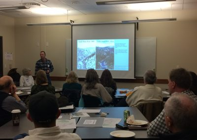 Presentations at the forestry and wildfire Workshop #1