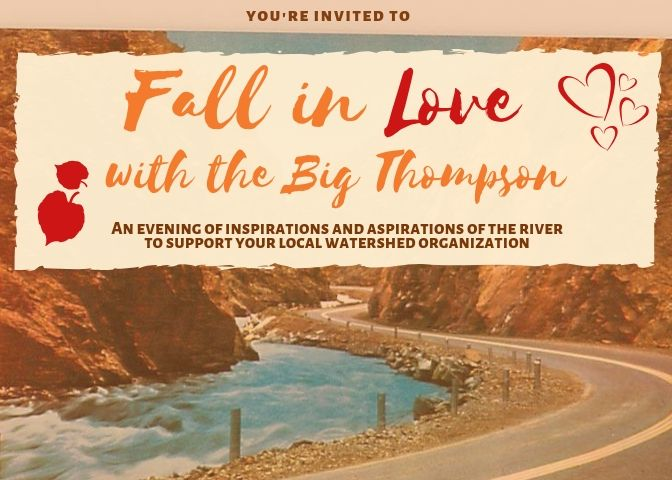 Fall in Love with the Big Thompson – annual fundraiser